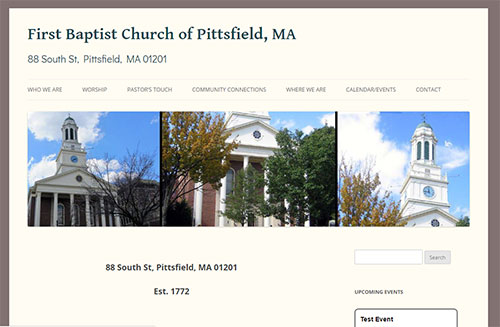 First Baptist Church, Pittsfield