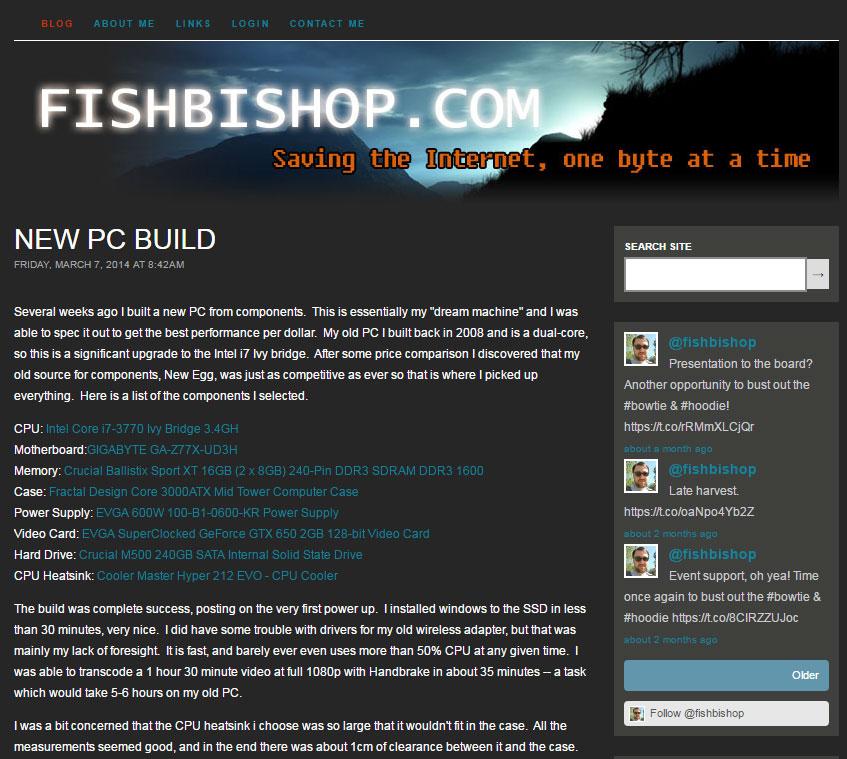 Fishbishop.com